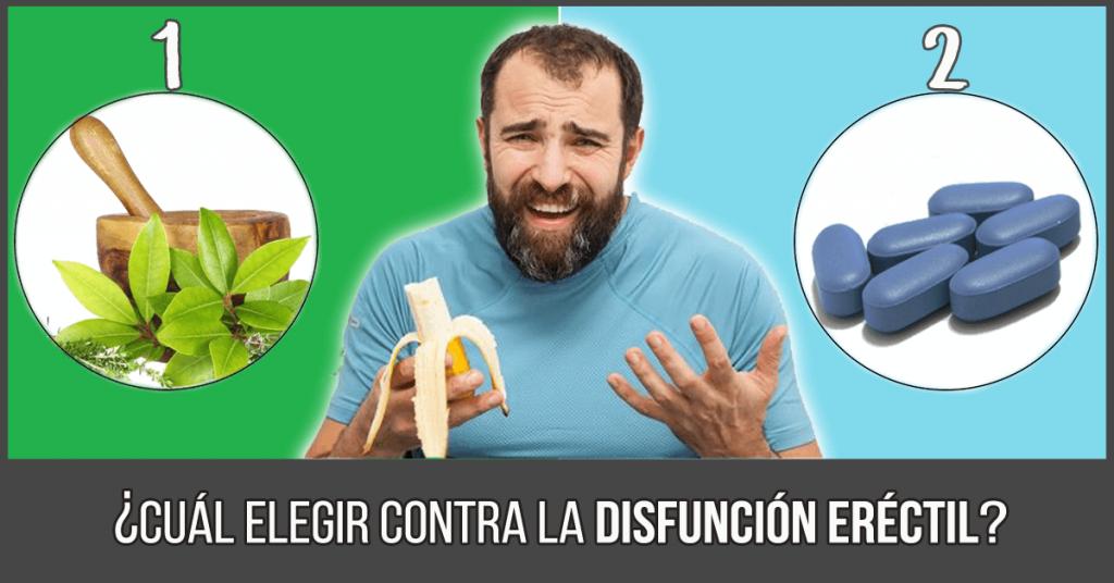 tratamiento natural contra la disfunción eréctil