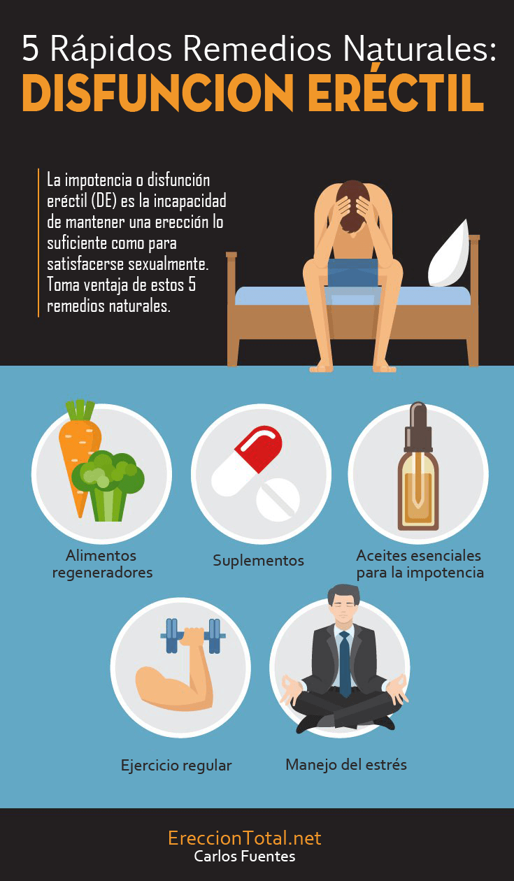 remedios naturales para una erección fuerte